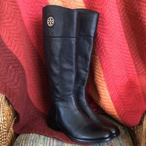 NWOT - Tory Burch Leather Junction Riding Boots
